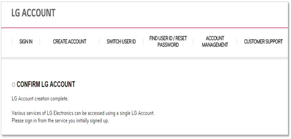 LG | webOS Signage Developer :: How to Merge Your Account