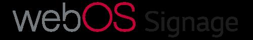 Default logo image for webOS Signage.